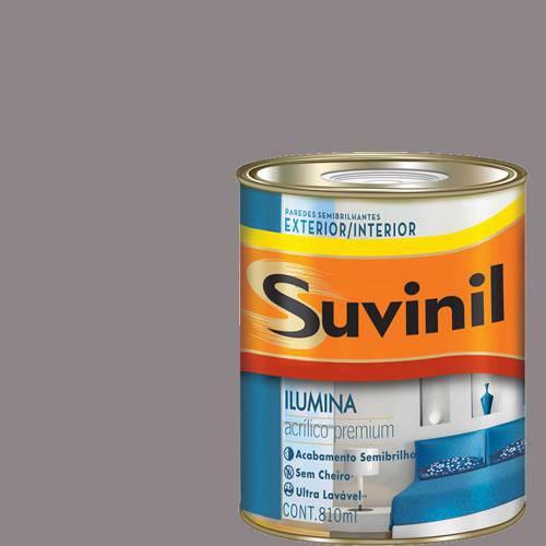 Tinta Acrilica Semi Brilho Premium Suvinil Bolsa de Pano 900Ml.