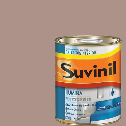 Tinta Acrilica Semi Brilho Premium Suvinil Coco Queimado 900Ml.