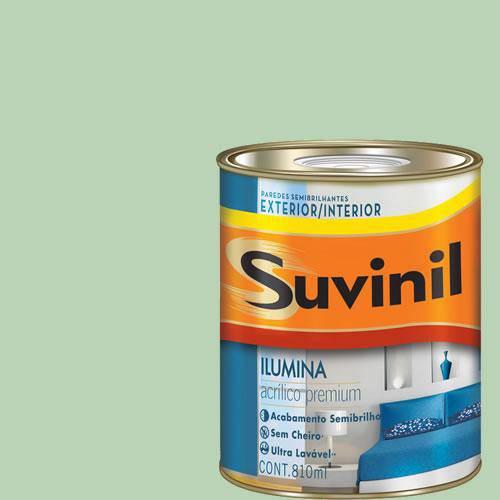 Tinta Acrilica Semi Brilho Premium Suvinil Coco Verde 900Ml.