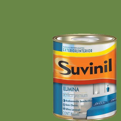 Tinta Acrilica Semi Brilho Premium Suvinil Limão Taiti 900Ml.