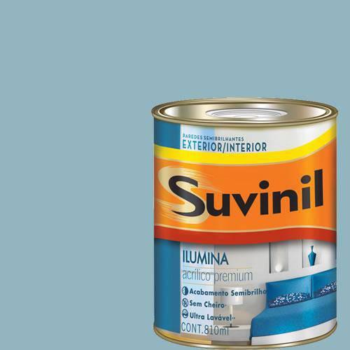 Tinta Acrilica Semi Brilho Premium Suvinil Porto Seguro 900Ml.