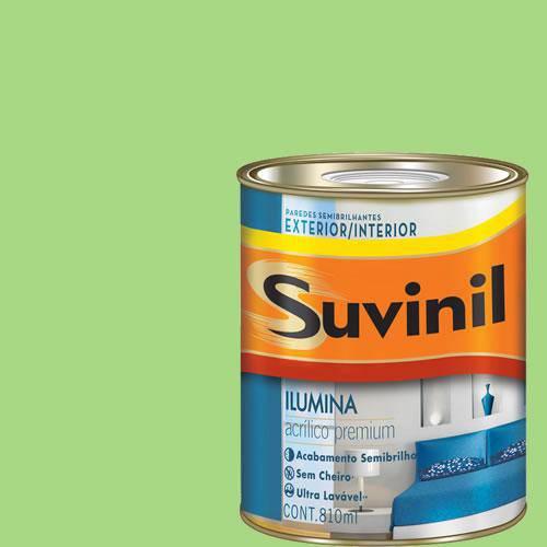 Tinta Acrilica Semi Brilho Premium Suvinil Vitral 900Ml.