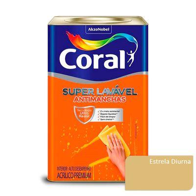 Tinta Acrílica Super Lavável Antimanchas Coral - Estrela Diurna - 16 Litros