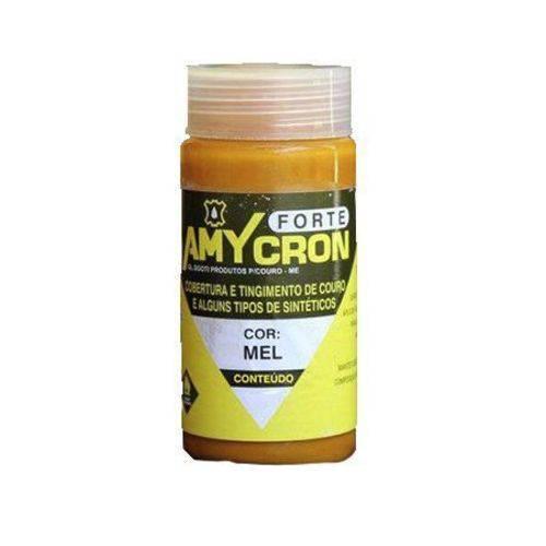 Tinta Amycron para Couro Legítimo e Alguns Sintéticos- Cor Mel 250ml - Amy