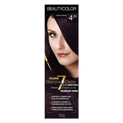 Tinta Beauty Color 4.20 Violeta Intenso