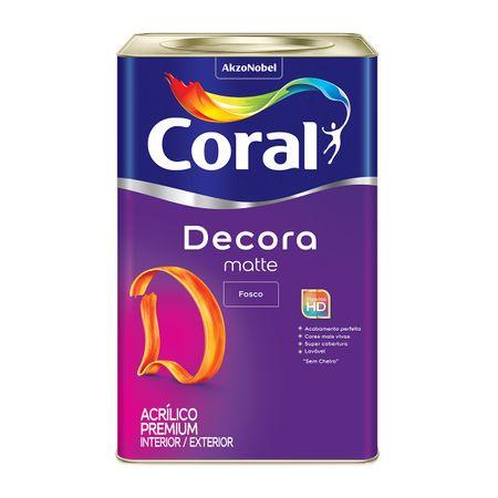 Tinta Coral Decora Acrílico Premium Fosco Branco Neve