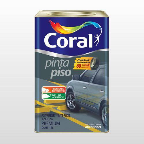 Tinta Coral Piso Amarelo Demarcacao 18 Lts