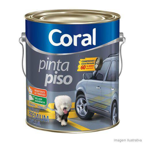 Tinta Coral Piso Amarelo Demarcacao 3,6 Gl