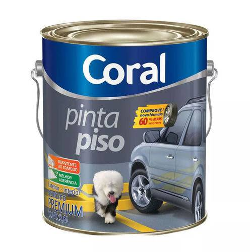 Tinta Pinta Piso Coral Verde - Galão 3.6 Lts