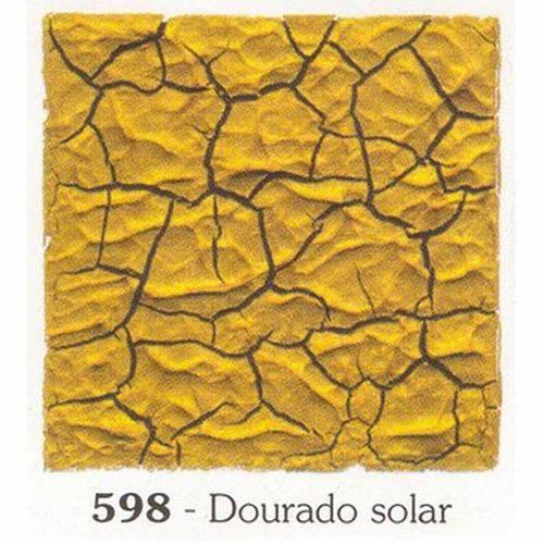 Tinta Craquelex 37ml Acrilex Dourado Solar 598