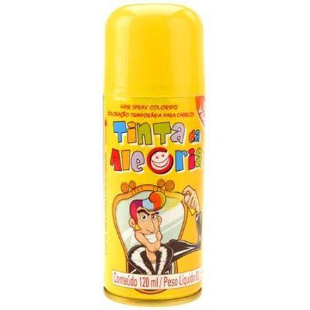 Tinta da Alegria para Cabelo Amarela - Unidade