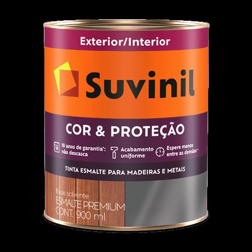 Tinta Esmalte Brilho Branco Cor e Proteção Suvinil 0,9l