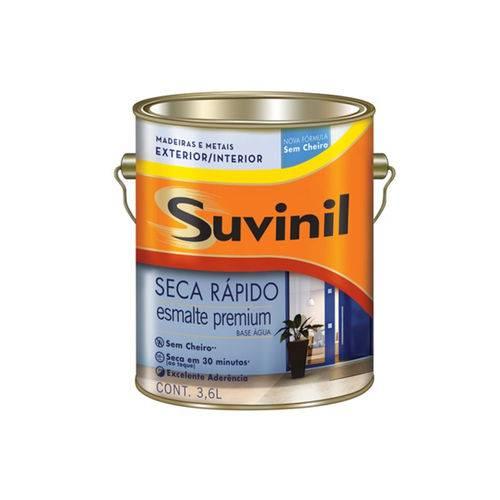Tinta Esmalte Premium Brilhante Seca Rápido Vermelho 3,6 Litros