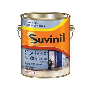Tinta Esmalte Sintético 3,6lts Acetinado Seca Ráp. Bco B.Água Suvinil