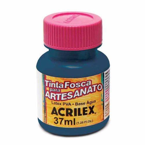 Tinta Fosca para Artesanato 37ml Acrilex Azul Ultramar 543