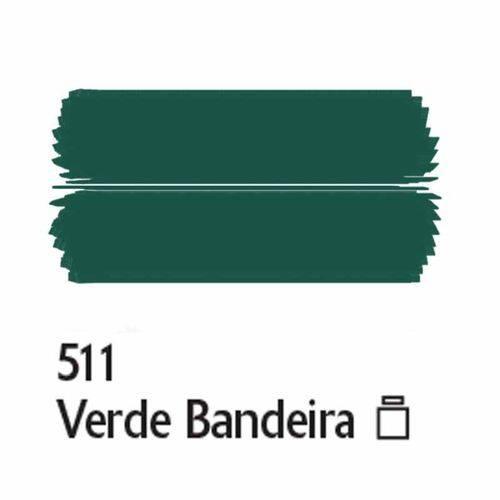 Tinta Fosca para Artesanato Acrilex 100 Ml Verde Bandeira 511