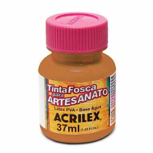 Tinta Fosca para Artesanato Acrilex 37 Ml Amêndoa 831