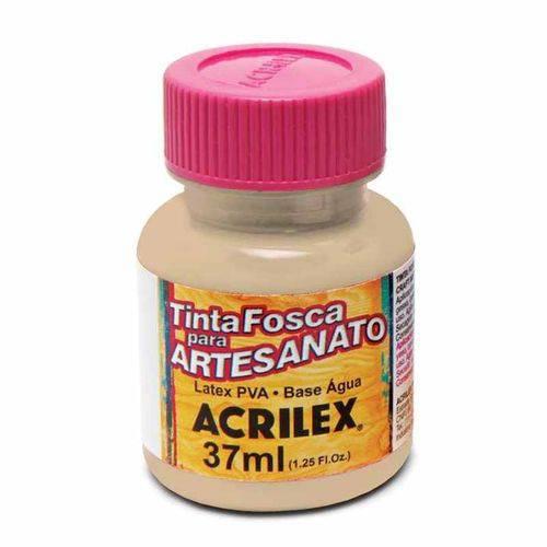 Tinta Fosca para Artesanato Acrilex 37 Ml Areia 817