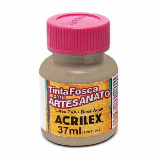 Tinta Fosca para Artesanato Acrilex 37 Ml Concreto 819