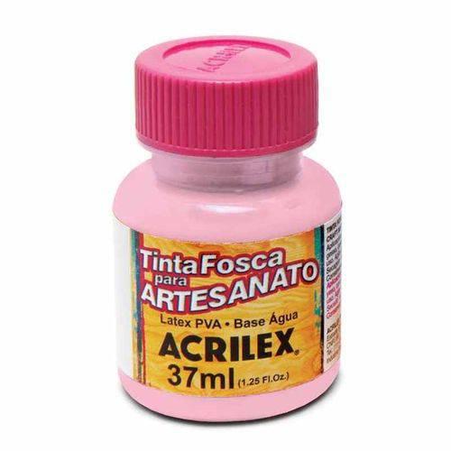 Tinta Fosca para Artesanato Acrilex 37 Ml Rosa Bebê 813