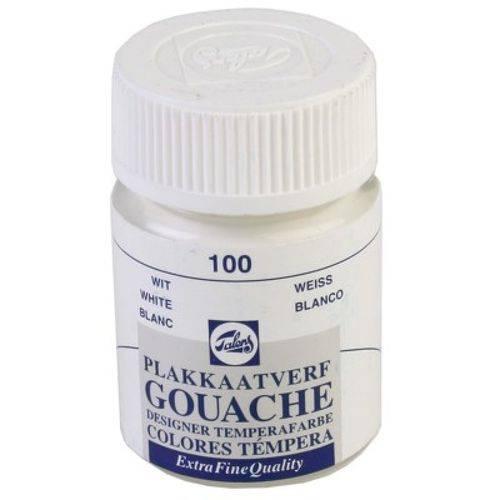 Tinta Gouache Talens - Branco 100 16 Ml