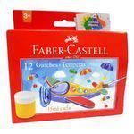 Tinta Guache 12 Cores 15ml Faber-castell