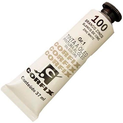 Tinta Óleo 20ml 100 Branco Zinco - Corfix 900877