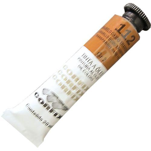 Tinta Óleo 20ml 112 Amarelo Óxido Transparente - Corfix 902017