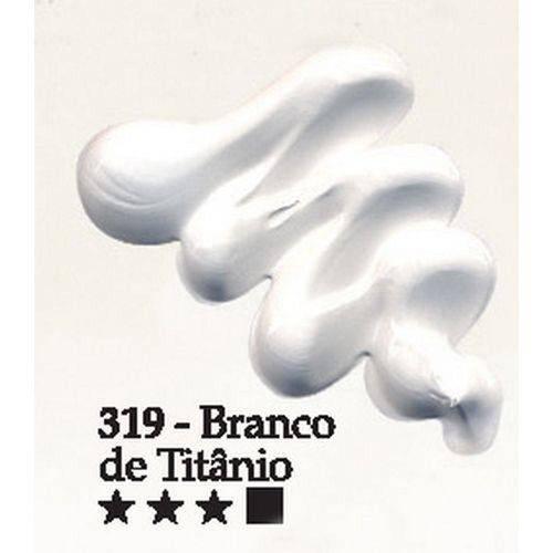 Tinta Óleo Acrilex 20ml-319-Branco de Titani
