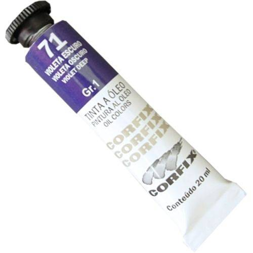 Tinta Óleo Corfix Gr 1 020 Ml Violeta Escuro 30020-71