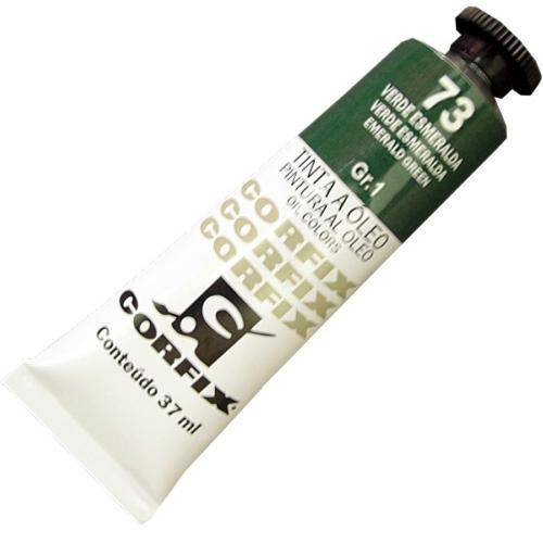 Tinta Óleo Corfix Verde Esmeralda 37ml