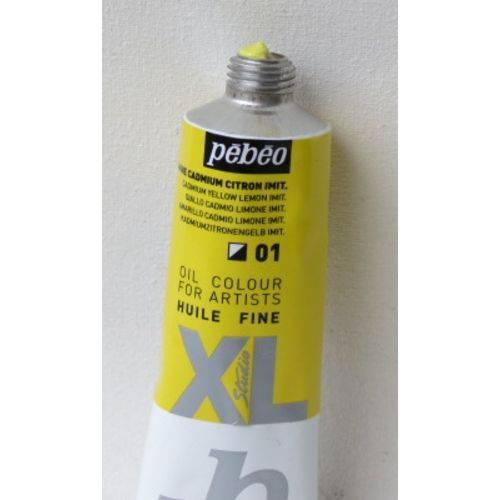 Tinta Óleo Pebeo Cádmium Yellow Lemon Hue #01 - 37ml