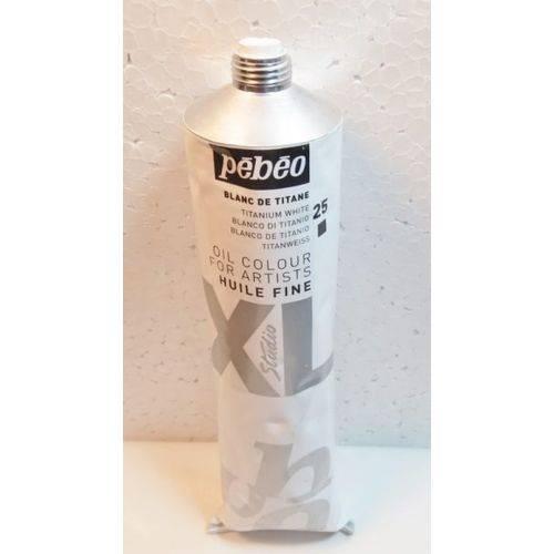 Tinta Óleo Pebeo Titanium White #25 - 200ml