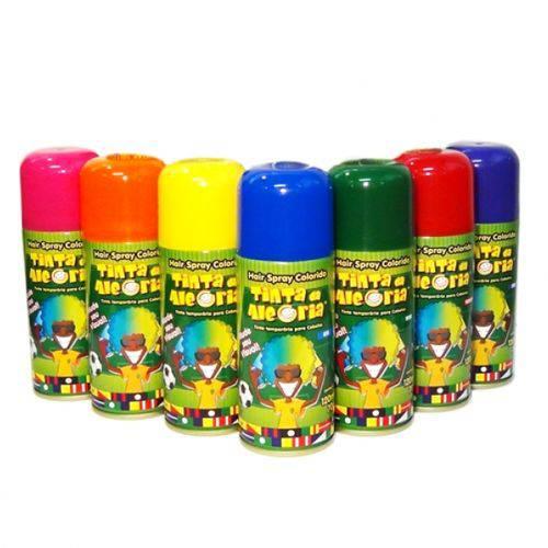Tinta para Cabelo em Spray 120ml