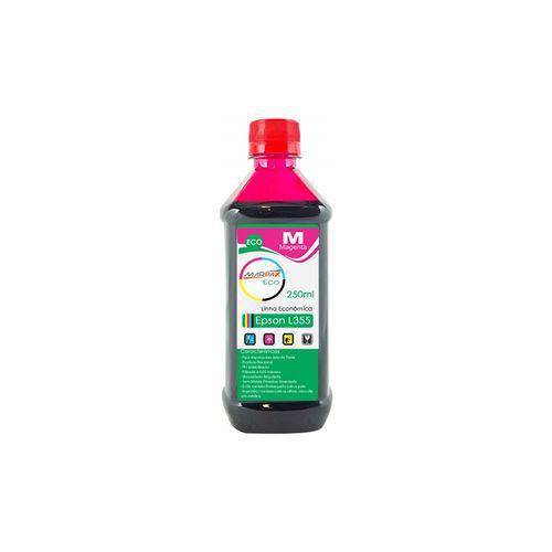 Tinta para Epson L355 Tanque Econômica Magenta Marpax 250ml