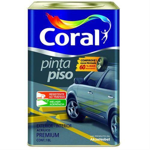 Tinta para Piso Fosco Branco 18 Litros - CORAL