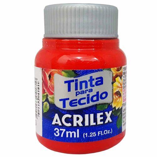 Tinta para Tecido 37ml 583 Vermelho Tomate Acrilex 901170