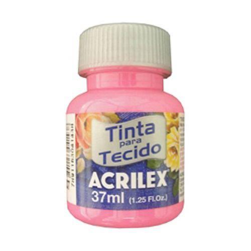 Tinta para Tecido Fosca 37ml Acrilex - Rosa