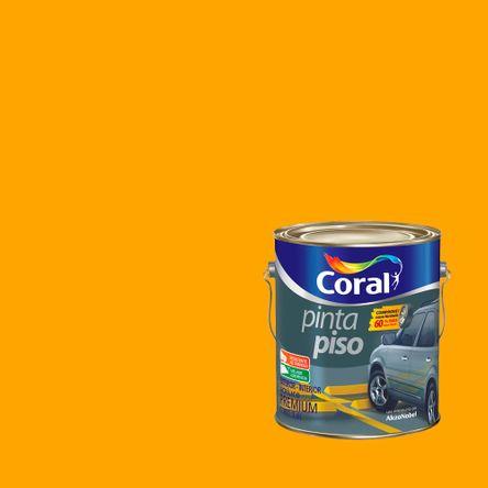 Tinta Pinta Piso 3,6 Litros Amarelo Coral