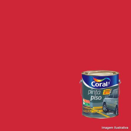 Tinta Pinta Piso 3,6 Litros Vermelho Coral