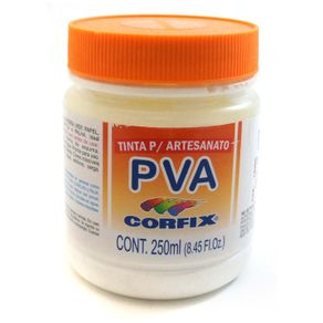 Tinta Pva 250ml Corfix Avulso Branco 301