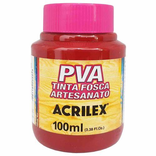 Tinta PVA Fosca 100ml 565 Vinho Acrilex 997282