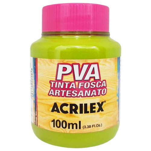 Tinta PVA Fosca 100ml 570 Verde Pistache Acrilex 997284