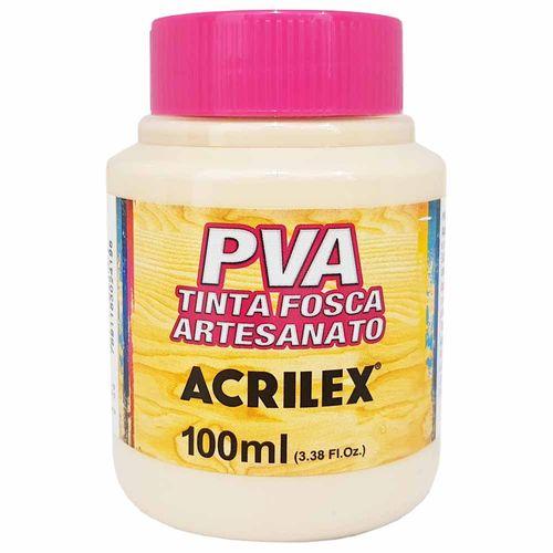 Tinta PVA Fosca 100ml 817 Areia Acrilex 996061