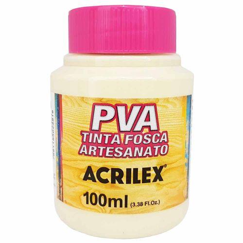 Tinta PVA Fosca 100ml 834 Palha Acrilex 996063