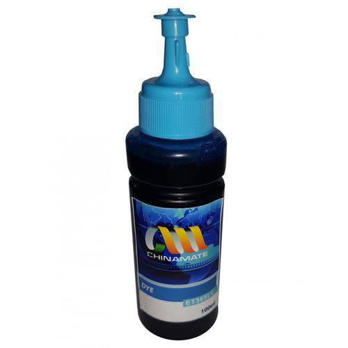 Tinta Refil para Bulk Ink Tanque de Tinta Epson Light Ciano L375 L475 L355 100ml Corante Chinamate