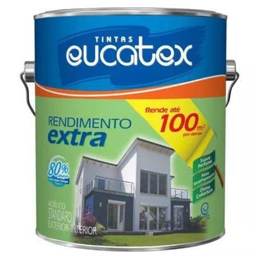 Tinta Rend Extra Acrilico Azul Praia Galão 3,6 Litros Eucatex