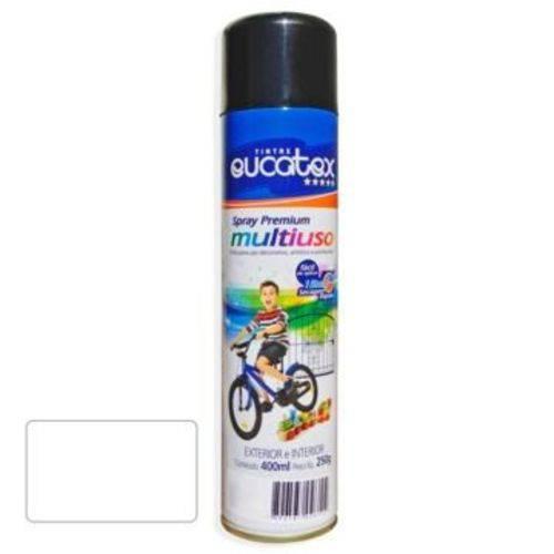 Tinta Spray Branco Fosco Eucatex