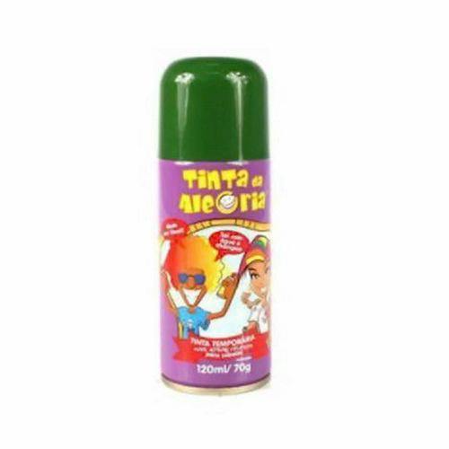 Tinta Spray para Cabelo 120ml Verde