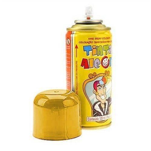Tinta Spray para Cabelo Amarelo 120ml